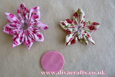 fabric flower free project diva crafts (5)