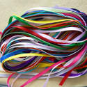 20 Metres of 6mm Ribbon in Mixed Colours