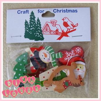 wooden assorted christmas shapes diva crafts diva loves week 39