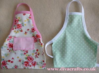 mini apron project free diva crafts (6)