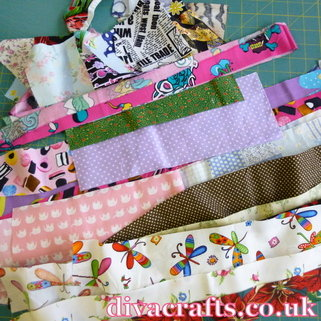 fabric scraps free project diva crafts (1)
