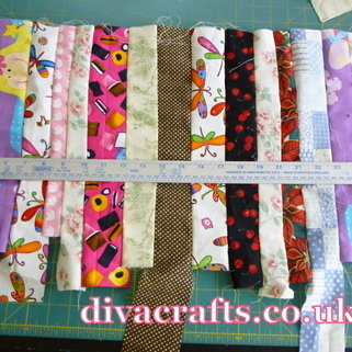 fabric scraps free project diva crafts (2)