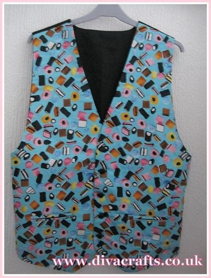 Waistcoat by customer Ruth