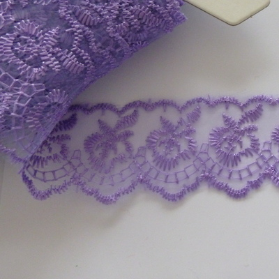 Lace 45mm Wide - Mauve