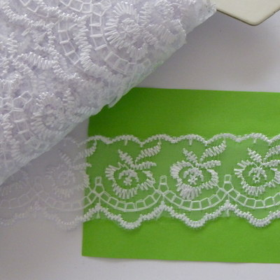 Lace 45mm Wide - White