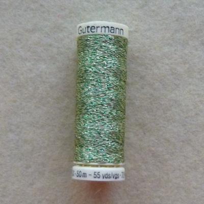 Gutermann Metallic Thread 50m - Green 400