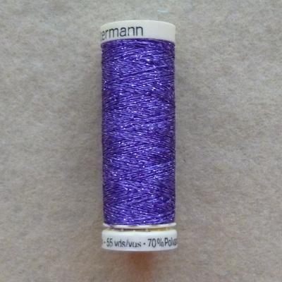 Gutermann Metallic Thread 50m - Purple 571