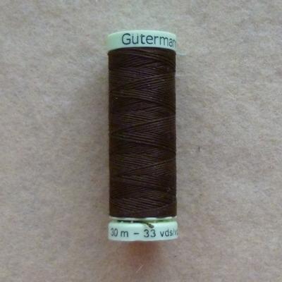 Gutermann Top Stitch Thread 30m - Brown 694