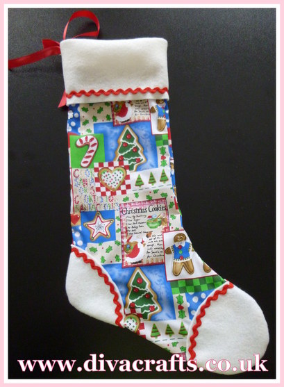 Diva crafts ideas gallery christmas stocking