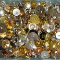 75g Gold & Silver Mix Craft Buttons