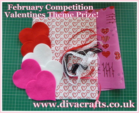 diva crafts valentines craft kit competition prize