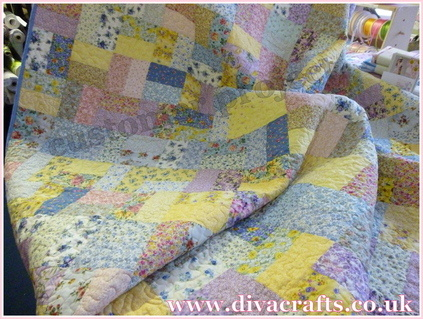 Customer Project beautiful quilt diva crafts