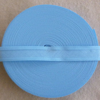 25mm Wide Bias Binding Sold by the Metre - Baby Blue