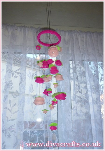 floral mobile decoration free project diva crafts (7)