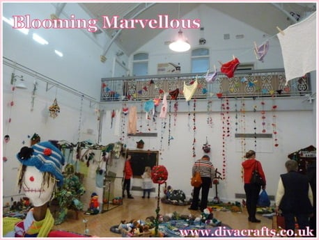 blooming marvellous exhibition at the Gosport Discovery Centre pictures by