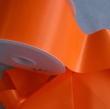 Sash Ribbon 10cm Wide  - Neon Orange