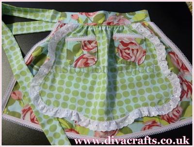 Diva Crafts customer project waist apron