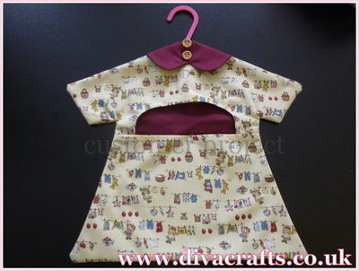 Diva Crafts customer project peg bag