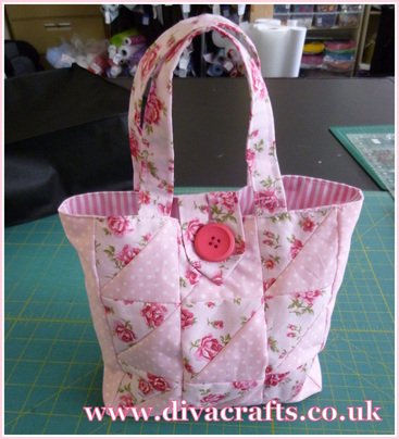 diva crafts patchwork bag diva makes 2