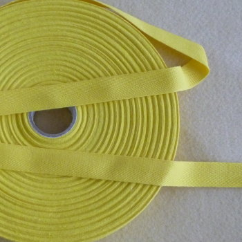 Herringbone Tape 20mm Wide - Yellow