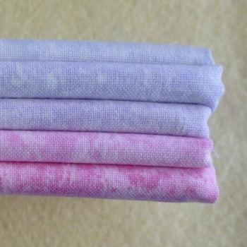Fat Quarter Bundle - Pink & Violet Mix