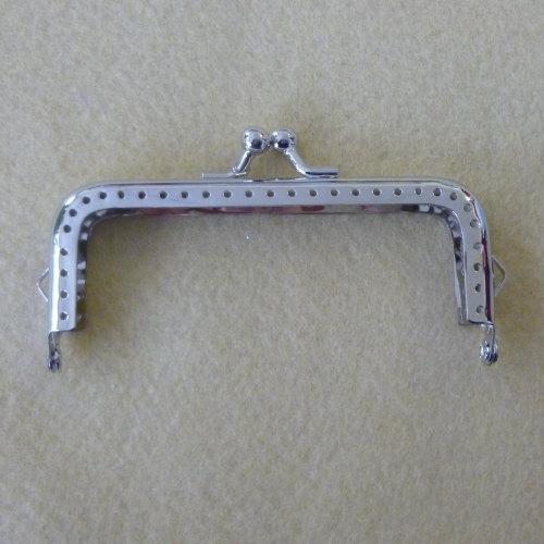 Purse Clasp - 10.5cm Silver Colour
