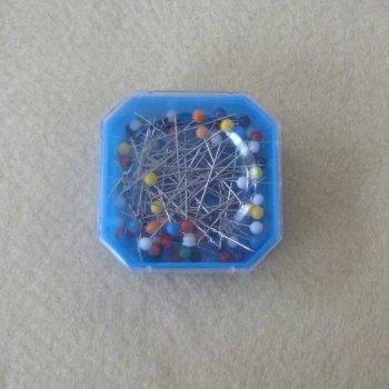 Pot of Dressmakers Pins