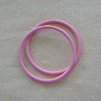 Bag Handles round - Pink