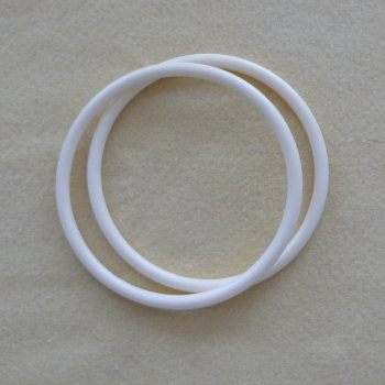 Bag Handles round - Ivory