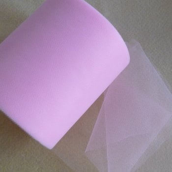 Tulle 15cm Wide - Baby Pink