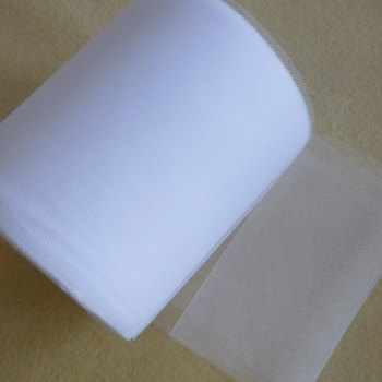 Tulle 15cm Wide - White