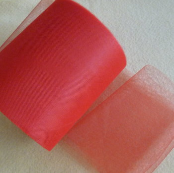Tulle 15cm Wide - Red