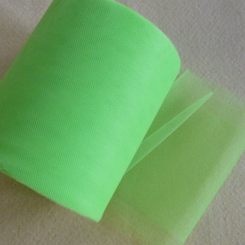 Tulle 15cm Wide - Lime Green