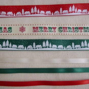 Christmas Ribbon Pack - Bertie's Bows 6 Metres