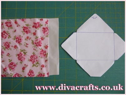 mini envelope bunting diva crafts (1)