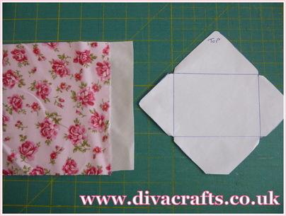 mini envelope bunting diva crafts (1)