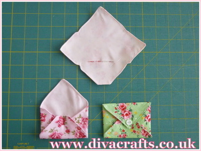 mini envelope bunting diva crafts (3)