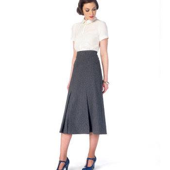 McCall's 6993 Skirts & Belt Sewing Pattern Sizes 14-22