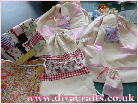 diva crafts customer project assorted bag designs