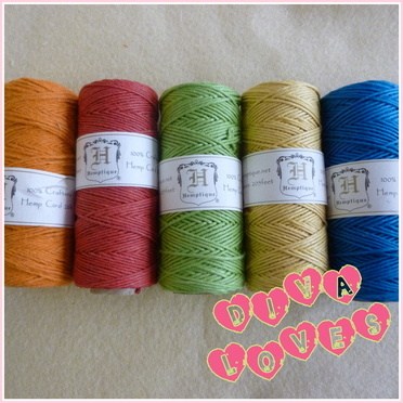 hemp string 15 metre pack primary diva crafts