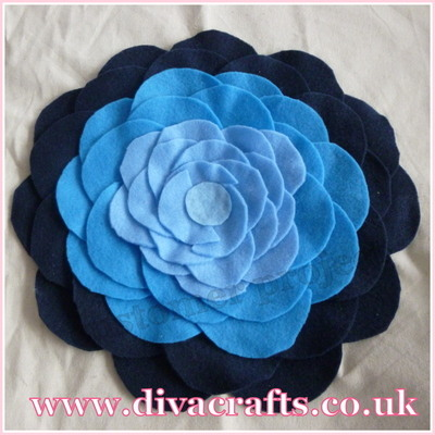 felt flowers customer project diva crafts (2)