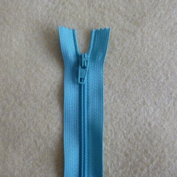 12 Inch Zip Nylon - 014 Blue