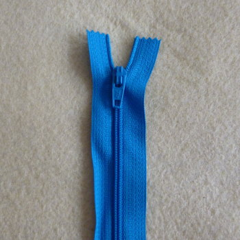 12 Inch Zip Nylon - 016 Royal Blue