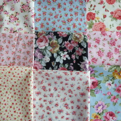 floral 9 piece fat quarter pack diva crafts