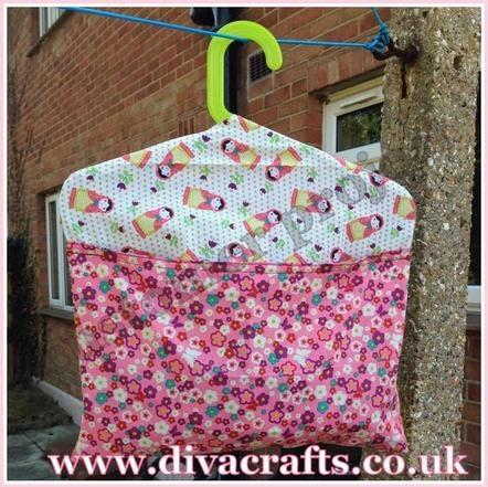 customer project Rachel peg bag diva crafts]