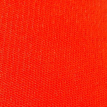 Dress Net 148cm Wide - Orange