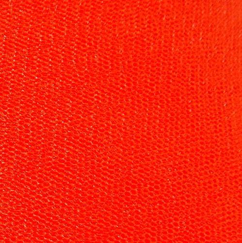 Dress Net 148cm Wide - Orange