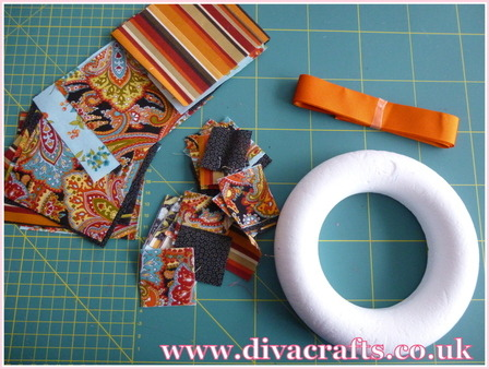 autumn wreath free mini project diva crafts (1)