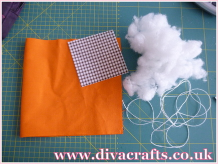 fabric pumpkin free project diva crafts (1)