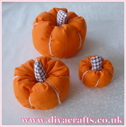 fabric pumpkin free project diva crafts (5)